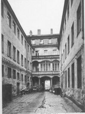 barocker Innenhof 1981