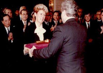 Einweihung feierliche Schlüsselübergabe Hotel Bellevue 13.02.1985