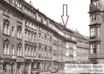 Meißner Straße 1945
