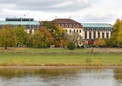 Das Bellevue Hotel Dresden am Elbufer