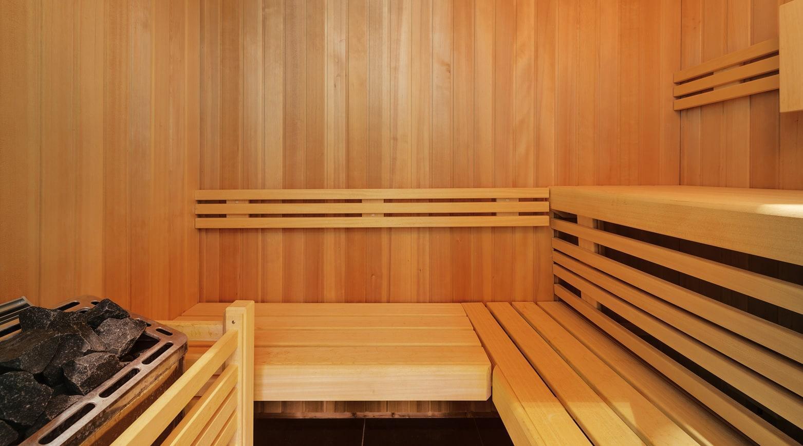 Sauna im Bilderberg Bellevue Dresden