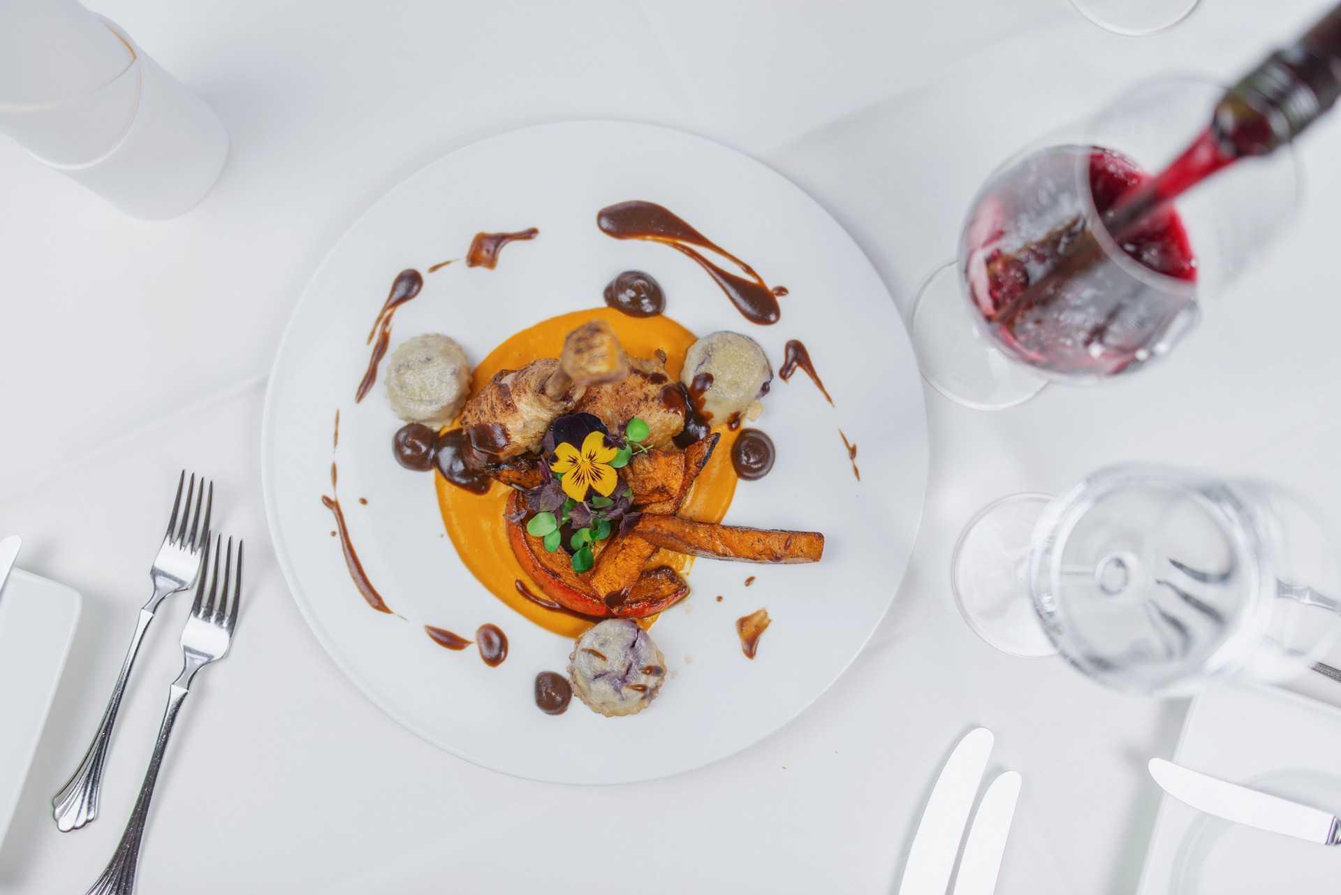 Dish at Bellevue Dresden