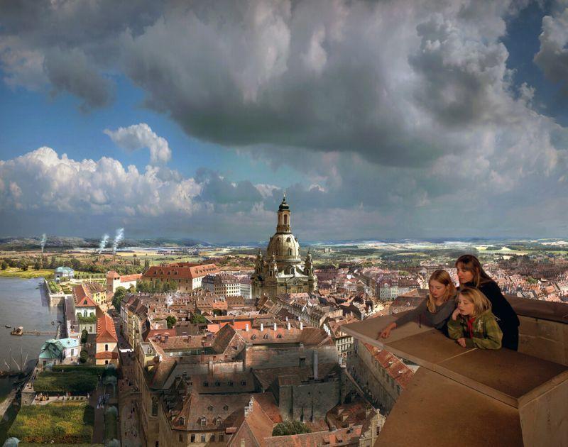 Besuchen Sie das Panometer in Dresden