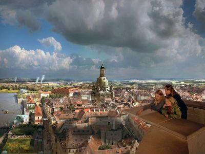 Das Panometer Dresden