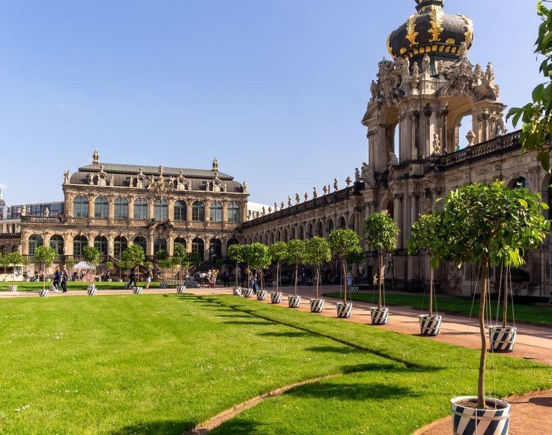 Besuchen Sie den Zwinger in Dresden
