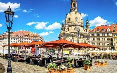 De historische binnenstad van Dresden
