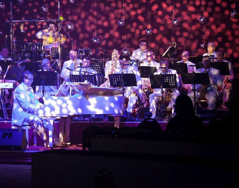Die Band des Weihnachtszirkus