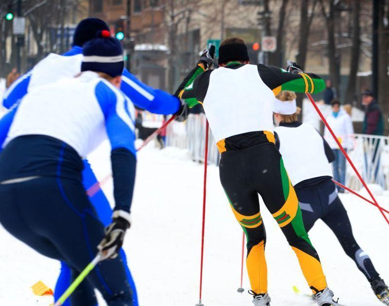 Langstreckenläufer Skiweltcup