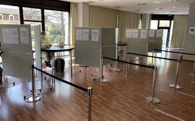 Bellevue Hotel eröffnet Testzentrum